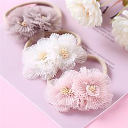 1 Stück Baby Mädchen Aktiv / Süß Freizeitskleidung Blumen / Solide Blumenstil Nylon Haarzubehör Blau / Rosa / Grün Kindergröße Lightinthebox