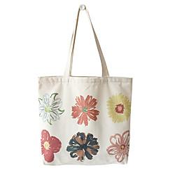 2021 neue Stilmalerei im europäischen Stil einfache tragbare einzelne Umhängetasche Baumwoll-Leinwand koreanische lässige Kunststudentin Schultasche weiblich Lightinthebox