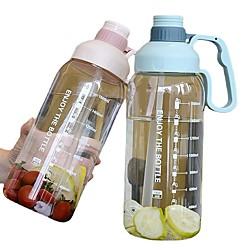 1800 ml Outdoor-Fitness-Sportflasche Wasserkocher große Kapazität tragbare Kletterfahrrad Wasserflaschen Gymnastikbecher cup Lightinthebox