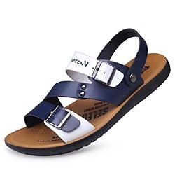 2017 sommer neue wasserdichte rutschfeste mikrofaser atmungsaktive strandschuhe männer jugendfarbe passende student mode sandalen männer Lightinthebox