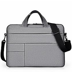 201 14 Laptop / 15 Laptop Handtaschen Nylonfaser / Polyester Volltonfarbe Unisex Wasserdicht Stossfest Lightinthebox
