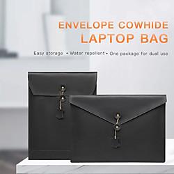 13,3-Zoll-PU-Leder-Laptop-Hülle für MacBook-Umschlag-Design wasserdichte, stoßfeste Notebook-Hülle Lightinthebox