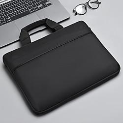 202 14 Laptop / 15 Laptop Handtaschen Nylonfaser / Polyester Volltonfarbe Unisex Wasserdicht Stossfest Lightinthebox