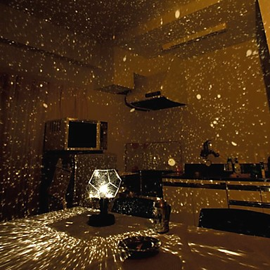 diy romantic galaxy starry sky projector night light 2xaa. Black Bedroom Furniture Sets. Home Design Ideas
