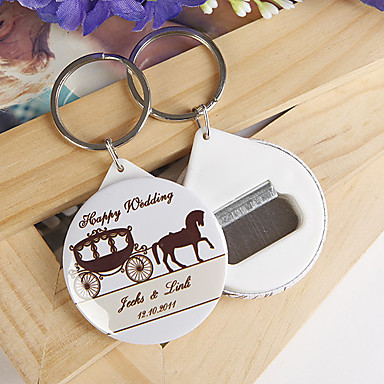 personalized bottle opener key ring carriage set of 12 222254 2017. Black Bedroom Furniture Sets. Home Design Ideas
