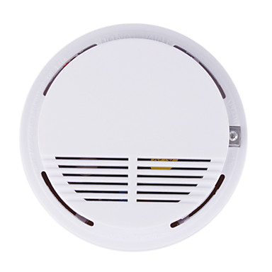 wireless battery operated smoke alarm fire detector 238049 2016. Black Bedroom Furniture Sets. Home Design Ideas