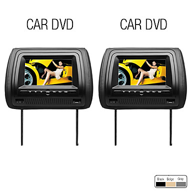 7 lecteur dvd appuie t te de voiture cran digital. Black Bedroom Furniture Sets. Home Design Ideas