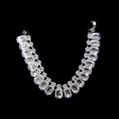 Crystal with ribbon tie collar necklace 242978 2017 for Ribbon tie necklace jewelry