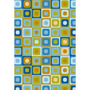 Lana enganchado alfombras con motivos geom tricos cuadros for Alfombras motivos geometricos