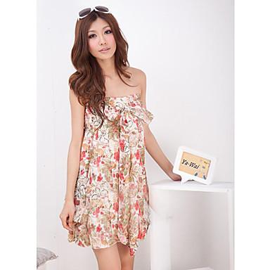coton gaine colum empire genou longueur robe d39ete plus With robe d été longueur genoux