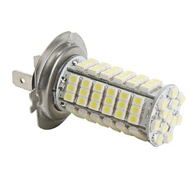 lampadina 102 led per auto luce bianca h7 3528 smd dc. Black Bedroom Furniture Sets. Home Design Ideas