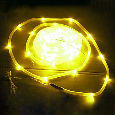 Yellow solar lights