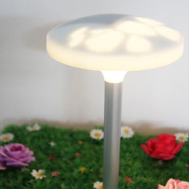 luci da giardino in metallo con 2 luci a led solari - USD ...