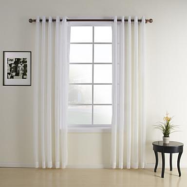 zwei Panele Window Treatment Modern , Plaid/Karomuster ...
