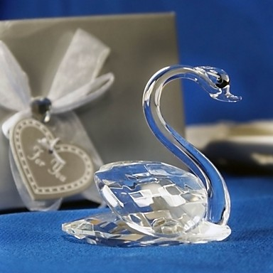 Gifts Bridesmaid Gift Choice Crystal Swan Favors 125568