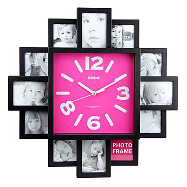 Reloj de pared con dise o de moda funci n de marco de foto - Reloj pared diseno ...