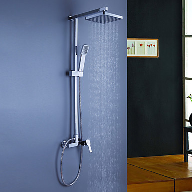 shower system rain shower handshower included with ceramic valve three holes single handle three holes for chrome shower u2013