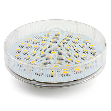 4w gx53 led spotlight 60 smd 3528 200 lm warm white ac 220 240 v 361463 2016. Black Bedroom Furniture Sets. Home Design Ideas