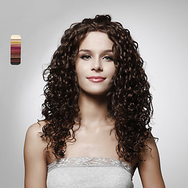 capless long top grade quality synthetic curly hair wig. Black Bedroom Furniture Sets. Home Design Ideas