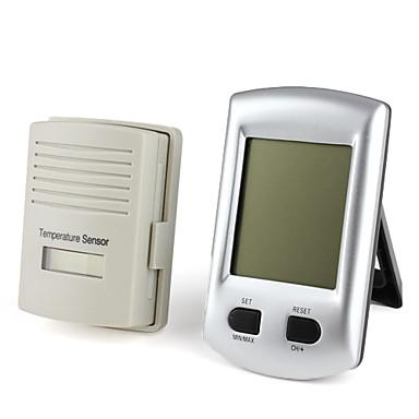 Kg200 sans fil int rieur ext rieur thermom tre num rique for Thermometres exterieurs