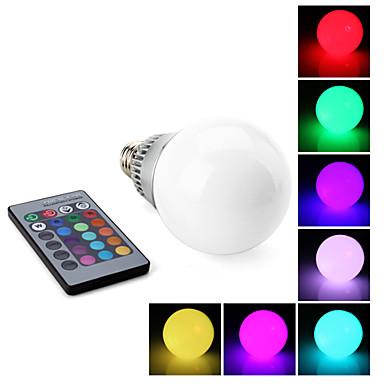 lampadina led rgb : Lampadina LED a sfera con telecomando E27 10W RGB (85-265 V) del ...