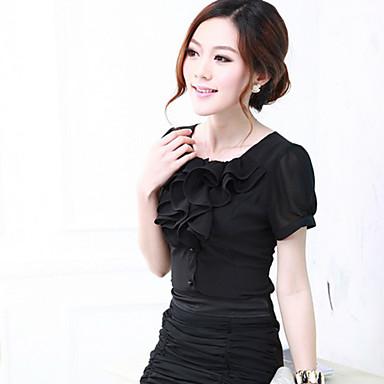Блузки женские с коротким рукавом