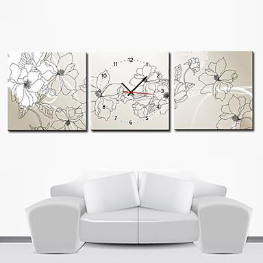 12 24 moderno orologio da parete stile floreale in - Orologi da parete moderni grandi ...