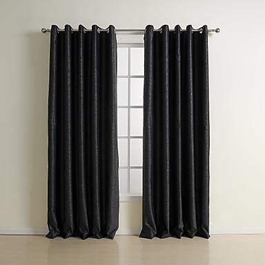 Twee panelen Window Behandeling Neoklassiek , Effen Slaapkamer ...