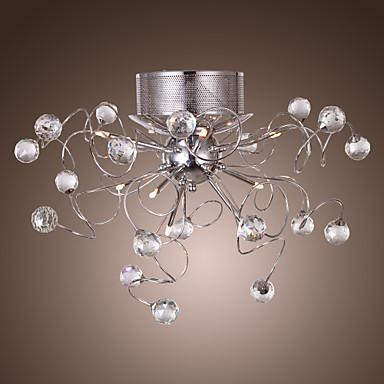 lustres de cristal design moderno de vida 9 luzes usd. Black Bedroom Furniture Sets. Home Design Ideas