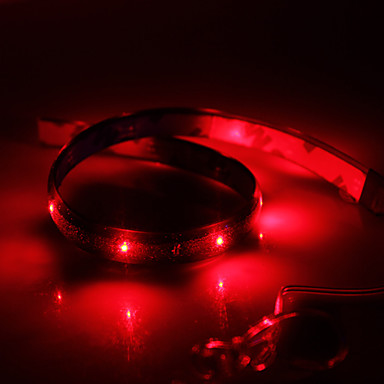 Red Led Lights : Waterproof 30cm 12-LED Red LED Strip Light (12V) 2016 – $1.99