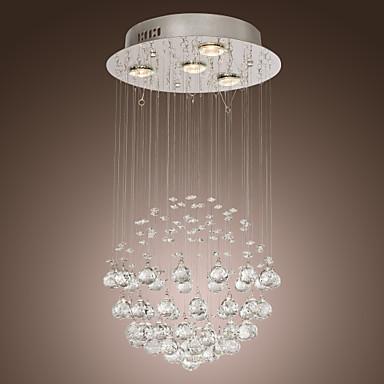 Max 50w contemporaneo cristallo / lampadine incluse cromo ...