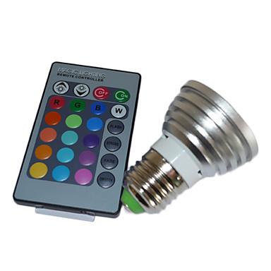 5W lampadina LED multicolore con telecomando (4 confezioni) - USD $ 54 ...