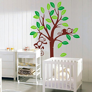 Barnerom Monkey Tree Wall Stickers 476047 2016 – 29.99