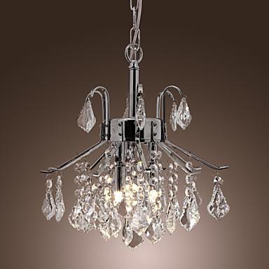 lampadari con gocce di cristallo di luce - 6 moderni del ...