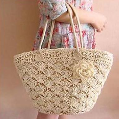 Mujeres flor gancho tejido bolsa 506470 2016 - Bolsos tejidos a crochet ...