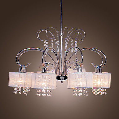 max 40w chandelier modern contemporary chrome feature