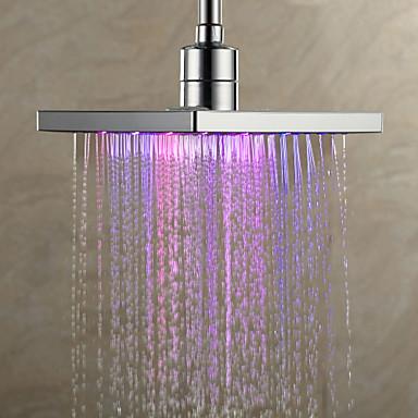 rain shower chrome feature for led rainfall shower head u2013