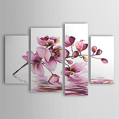 Pintados m o floral bot nico 4 pain is tela pintura a for Tecnicas de coccion modernas