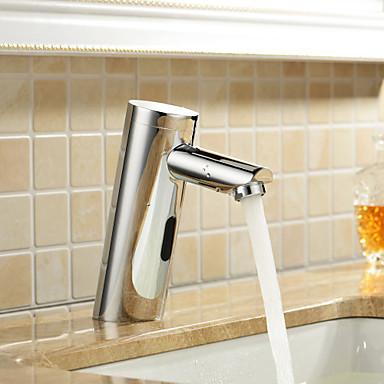Baderomvask kraner   moderne   di messing   touch/ikke touch (krom ...