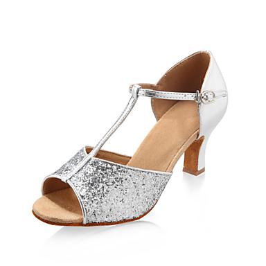 p tillante paillettes sup rieure chaussures danse de salon des chaussures pour les femmes latino. Black Bedroom Furniture Sets. Home Design Ideas