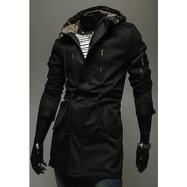pea coat hoodie