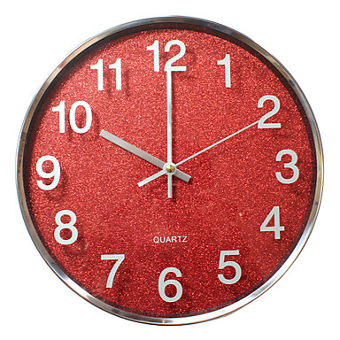 12 h moderno reloj de pared de acero inoxidable 546262 - Reloj de pared moderno ...
