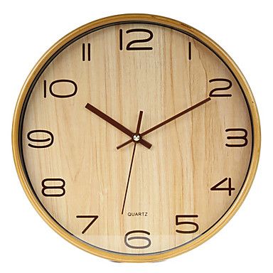 Modern business holz wanduhr 546263 2016 for Wanduhr modern