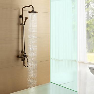 Grifo de ducha antiguo ducha lluvia alcachofa for Manija para ducha
