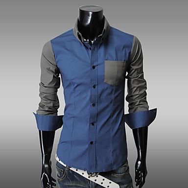 Baju Kemeja Lengan Panjang Pria
