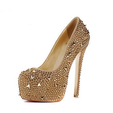 Женские вечерние туфли на шпильке 323-K