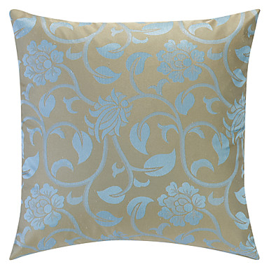Jacquard Decorative Pillows : Light Blue Jacquard Polyester Decorative Pillow Cover 590120 2016 ? $5.94