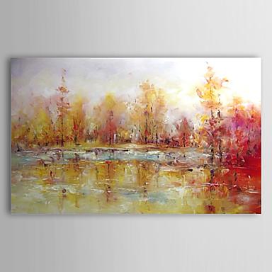 Pintados m o abstrato paisagens abstratas 1 painel - Pintura en tela motivos navidenos ...