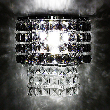 Crystal / LED / Bulb Included Flush Mount wall Lights,Modern/Contemporary LED Integrated Crystal ...