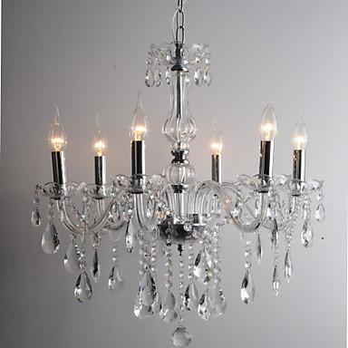 candela lampadari di cristallo funzionalit? con 6 luci del ...